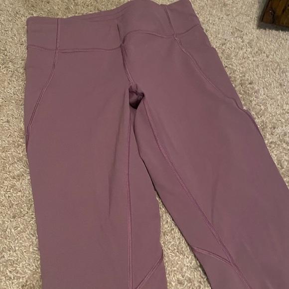 Lululemon Leggings Size 10 purple